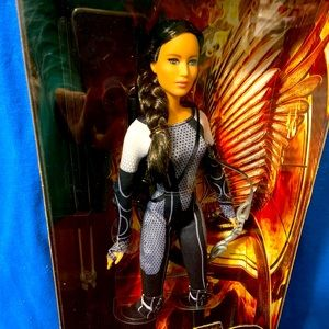Katniss hunger games doll